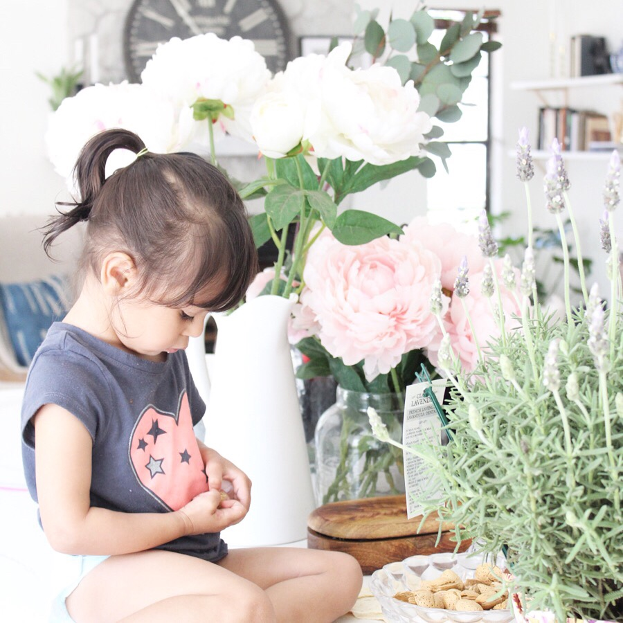 Blushes and peonies
